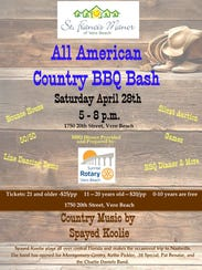 Live country music,good barbecue, and a line dancing