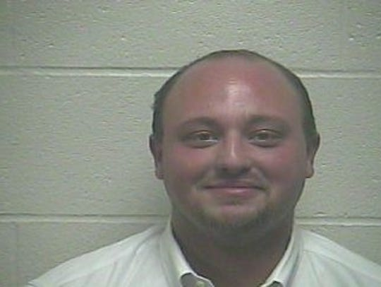 Jack Byrd after being arrested in Giles County in January.