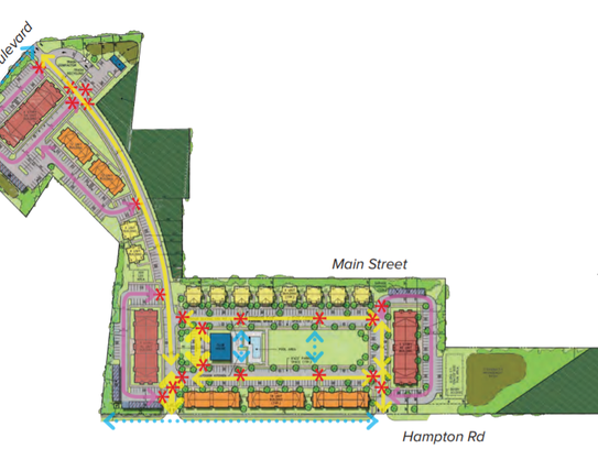 Revised redevelopment plan details changes for tract
