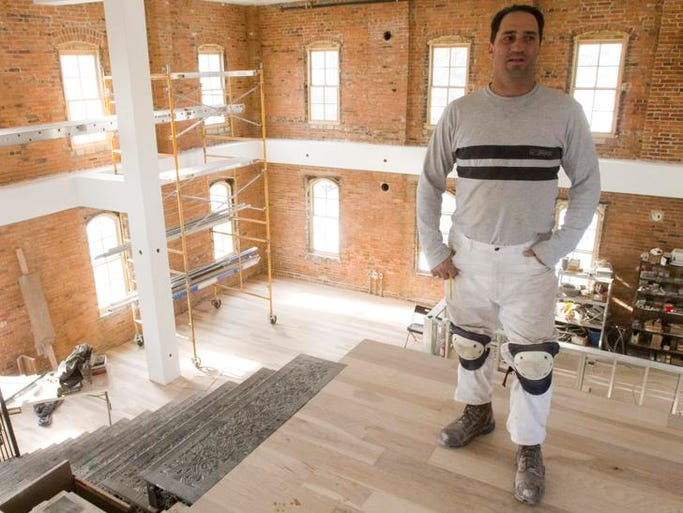 Paul Corvino of Italia Tile and Marble talks about the Brewery Becker building soon to open.