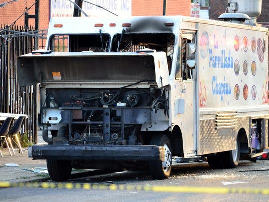AP Food Truck Explosion