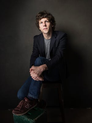 Jesse Eisenberg will play villain Lex Luther in the upcoming 'Batman vs. Superman.'