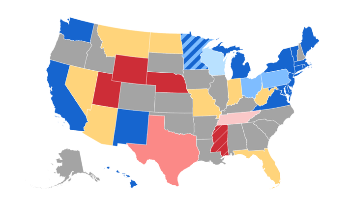 Interactive guide to the midterm elections