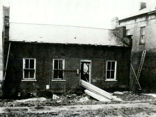 This Toll House, which once stood alongside the Ohio-Erie