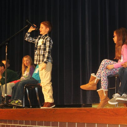 Young South Lyon spellers show P-O-I-S-E at competition