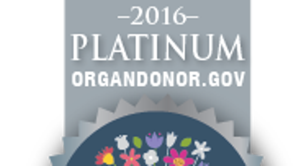 Hackensack Meridian Health recognized for organ donor enrollment