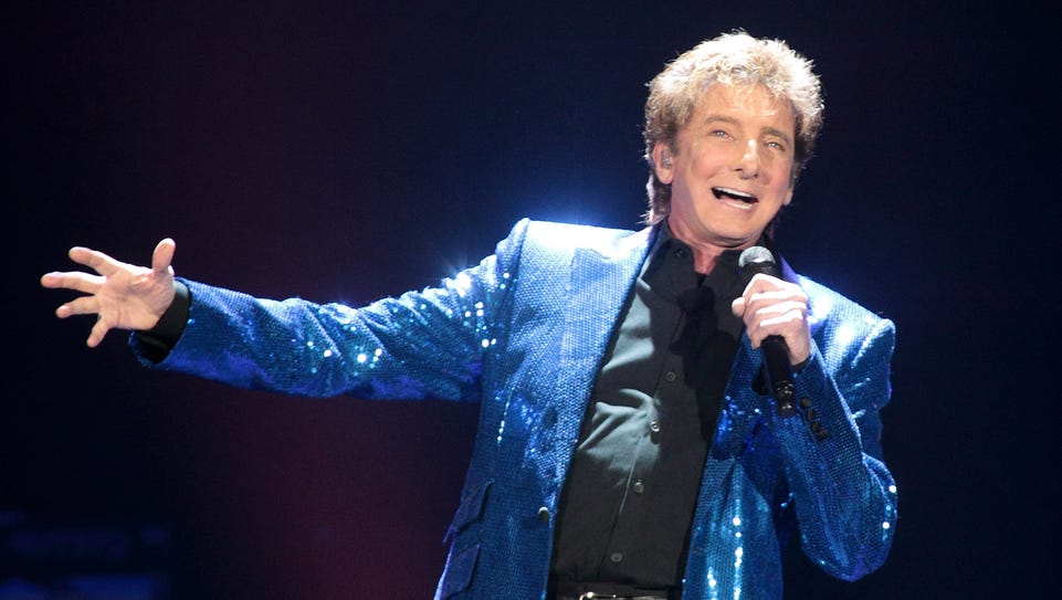 Barry Manilow will bring his One Last Time! Tour to