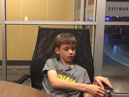 Jack Welch, 8, has battled cancer.