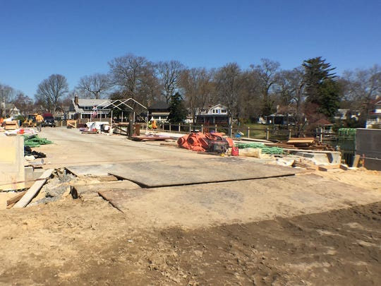 The Sunset Avenue Bridge, which was reconstructed by Monmouth County, is expected to be open by Memorial Day.