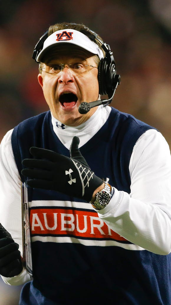 Auburn coach Gus Malzahn's squad lost consecutive games for the first time.