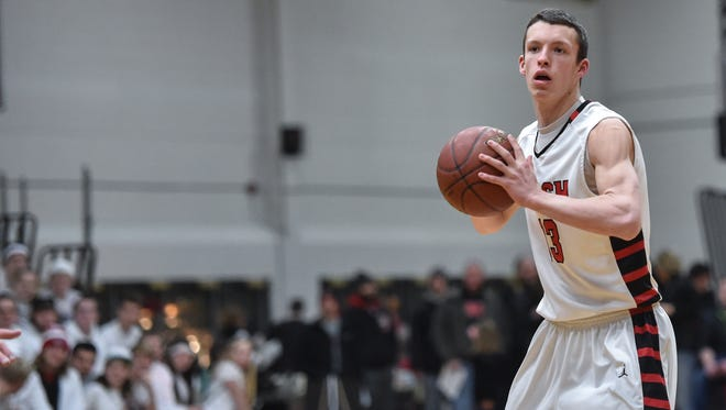 Senior Mack Journell and the top-ranked SPASH boys basketball team hope to cap off their season with a second Division 1 state championship in a row.
