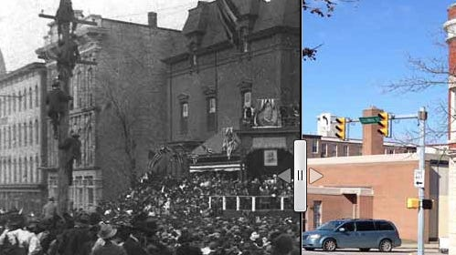 Then & Now: Howard Taft in Lafayette, 1908