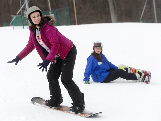 Roundtop Mountain Resort snowboard instructor Charissa