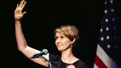 Cynthia Nixon attended 'The People's State of the Union'