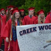 Creek Wood High School graduation