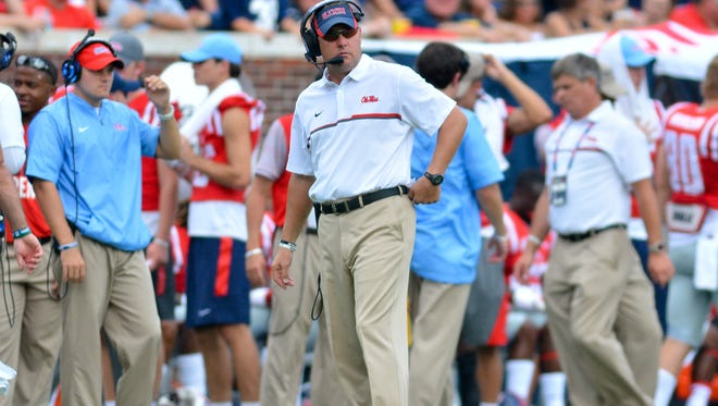 Ole Miss coach Hugh Freeze won't be big on revenge this week against Memphis, which beat the Rebels in 2015.