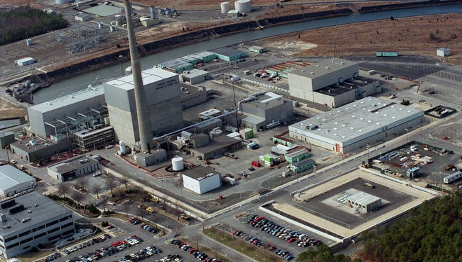 An Asbury Park Press file photo of the Oyster Creek nuclear power plant in Lacey.