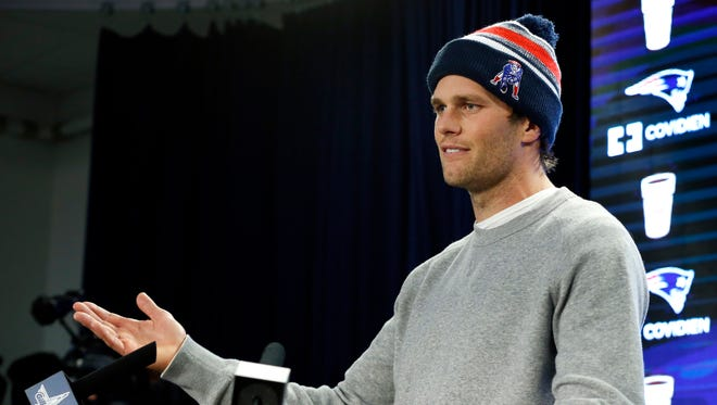 New England Patriots quarterback Tom Brady is looking to spoil Seattle's repeat attempt.