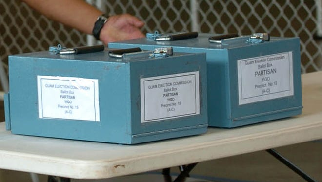 Guam's General Election is scheduled for Nov. 8, 2016.