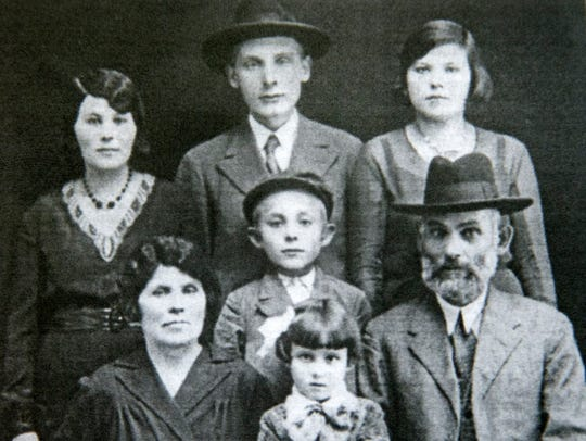 Magda Willinger's family, the Weisberger family in