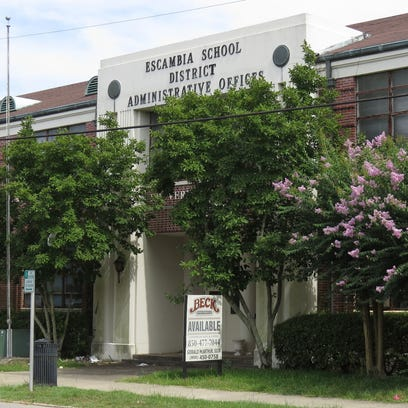 The former administrative headquarters of the Escambia