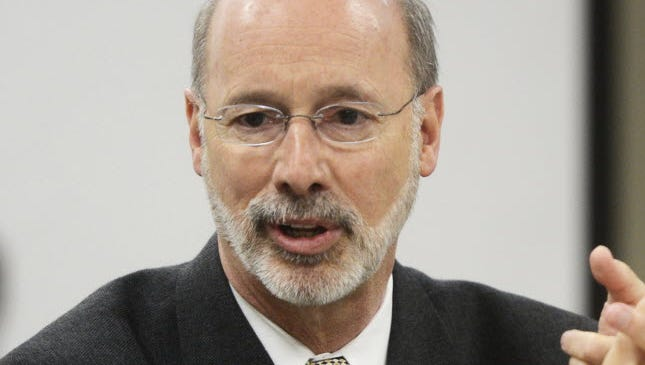 Gov. Tom Wolf lauded a budget compromise that would increase school funding.