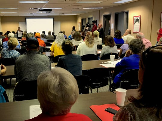 Volunteers gather to train for 14-day deployments to