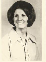 Nancy Smith Patrick's 1968 class photo.