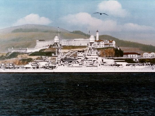 Fred M. Jones was aboard the USS Oklahoma when it was