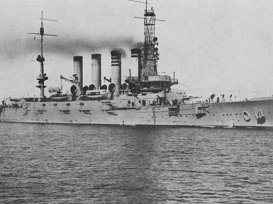 The first USS Montana launched in 1906 and was later