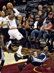 Dec 13, 2016; Cleveland, OH, USA; Cleveland Cavaliers