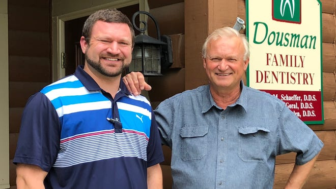 Dr. Dennis Schaeffer has practiced dentistry in the Dousman area for 42 years. His son, James, will take over for him at Dousman Family Dentistry.