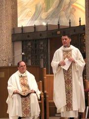 Father Mark Luedtke, the president of Loyola High School