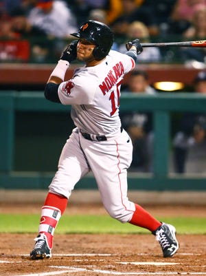 Infielder Yoan Moncada worked his way up from Class A to the majors this season at age 21.