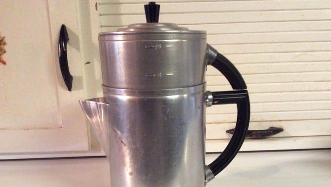 Old-school drip coffeepot.