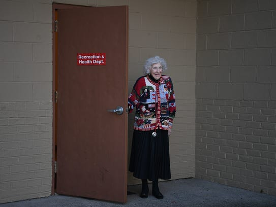 Kathryn Hodges, 97 and a public health nurse