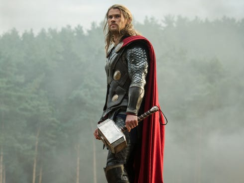Chris Hemsworth returns in the titular role in the sequel 'Thor: The Dark World.'