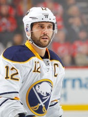 Rochester's Brian Gionta played in his 1,000th NHL