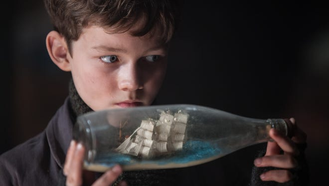 Levi Miller has his big break as the orphaned Peter in 'Pan.'