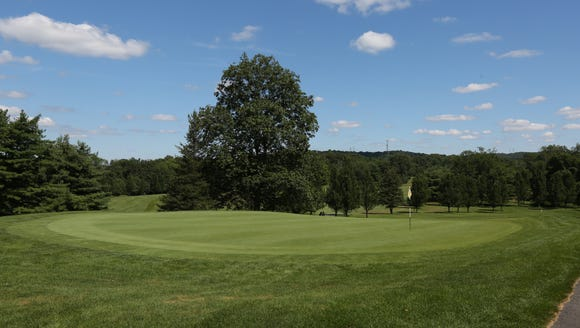 The 8th hole at Mohansic Golf Course in Yorktown July