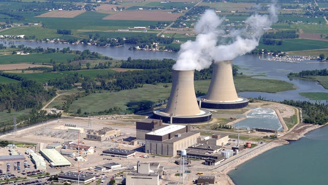 The Fermi 2 nuclear power plant in Newport, Mich., is on the western shore of Lake Erie in Monroe County. It generates 1,170 megawatts of electricity.