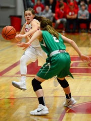 Jennah Yost's defense has been a key in Margaretta's back-court.