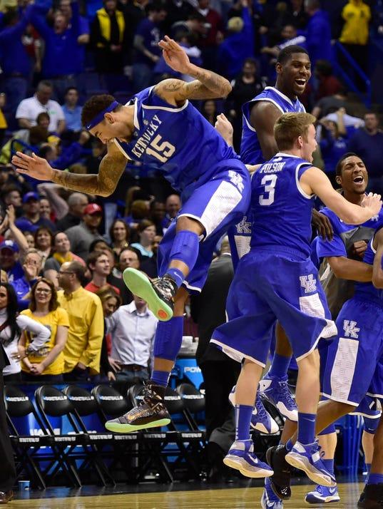 USP NCAA Basketball_ NCAA Tournament-3rd Round-Wic