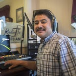 Faith Radio owner Scott Beigle and newly appointed Radio Fe director Enrique Yanez look forward to a partnership on the airwaves.. The station has expanded their content to include a new Spanish language Christian radio station named Radio Fe. The station operates from dawn to dusk and 24 hours a daily online.