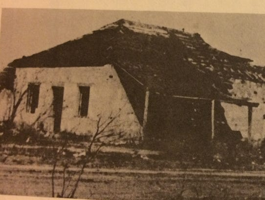 This photo shows Fort Concho's Barracks No. 2 in a
