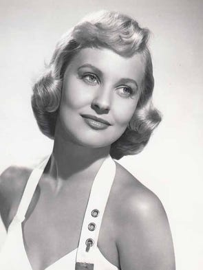 March 23, 2017: Lola Albright, a sultry blonde bombshell