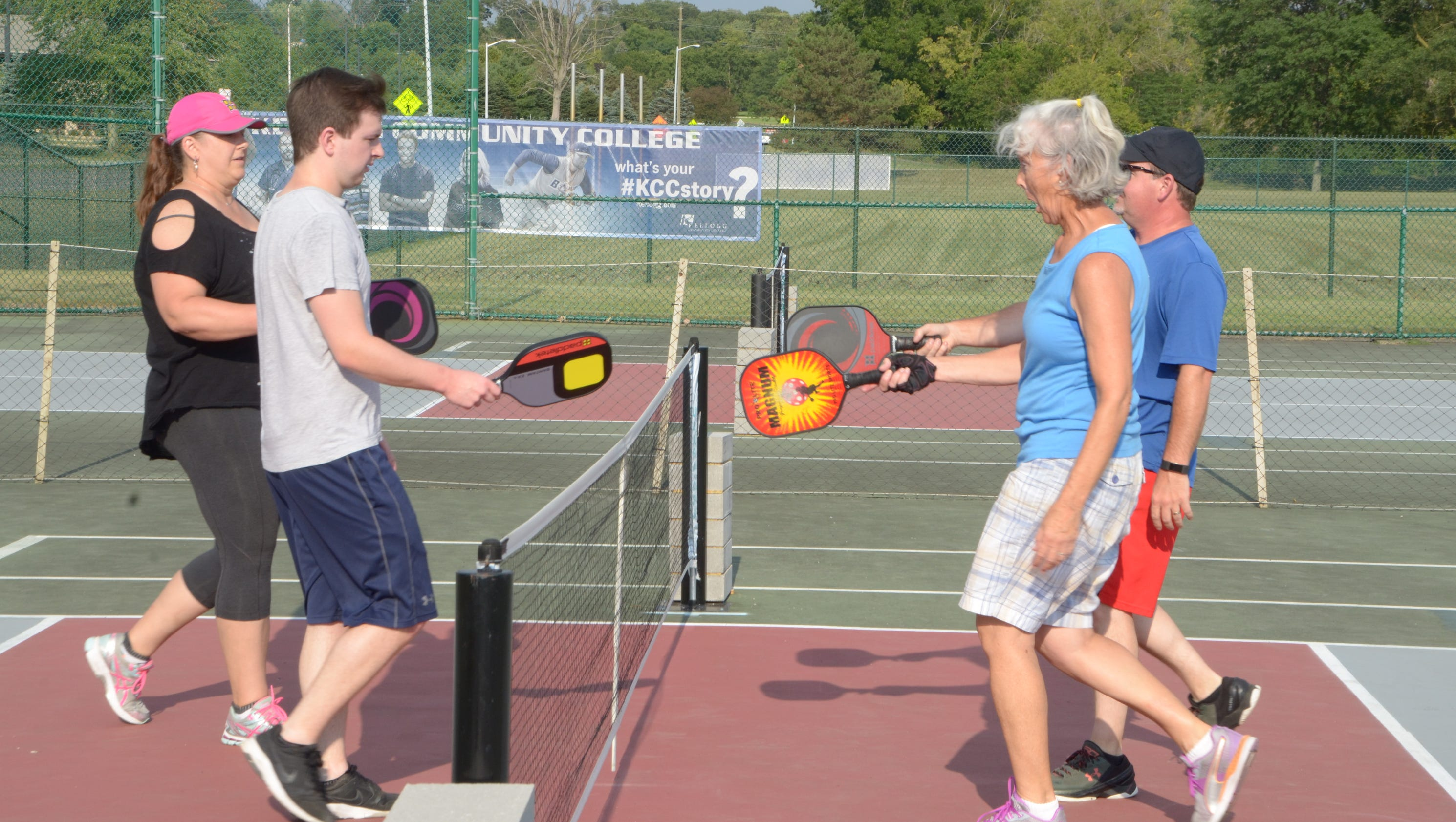Pickleball: A sport for all ages