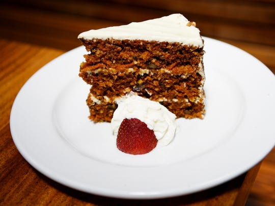West First's carrot cake July 6, 2017.