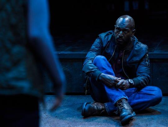 Corey Jones plays Tate in the Utah Shakespeare Festival's