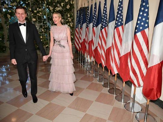 Ivanka Trump and husband Jared Kushner, President Trump's